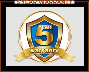 Recue Phone Inc. 5 year warranty