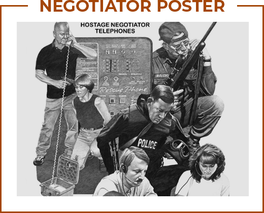 Rescue Phone Inc. Hostage Negotiator Telephones poster